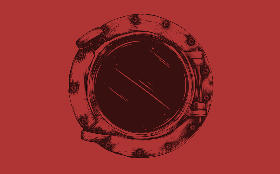 Illustration for the The Porthole Murder
